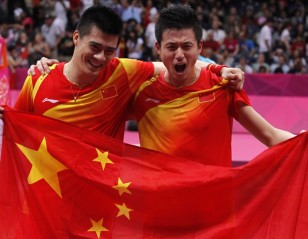 London 2012: Day 9 – Men's Doubles: Careers Complete with Golden Sweep