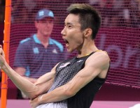 London 2012: Day 7 - Men's Singles Semis: Lin Dan, Lee Chong Wei in Golden Showdown