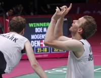 London 2012: Day 8 - Men's Doubles Semis: Korea's Loss is Denmark's Gain