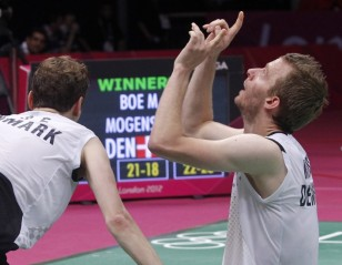 London 2012: Day 8 – Men's Doubles Semis: Korea's Loss is Denmark's Gain