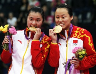 London 2012: Day 8 – Women's Doubles: Double Take for Zhao Yunlei