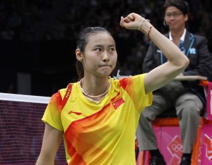 London 2012: Day 7 – Women's Singles Semis: Wang Yihan Routs Nehwal