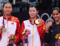 London 2012: Day 8 - Women's Singles : Li Xuerui Repays Country's Faith with Gold
