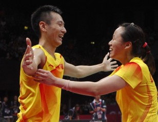 London 2012: Day 7 – Zhang-Zhao Tops World of Mixed Doubles