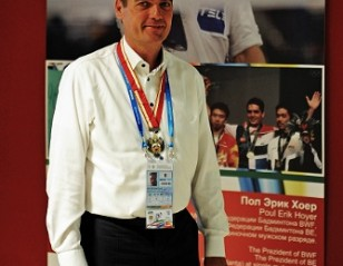 Russia Gives BWF President 'Badge of Honour'