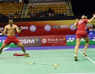 Hong Kong Open 2013: Day 5 – Finals Date for Mr & Mrs Adcock