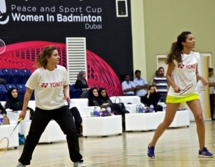 Arab Women Promote Badminton for Peace