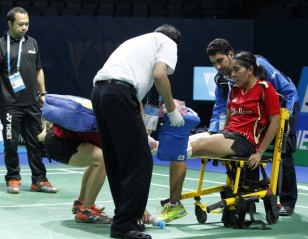 BWF DD WSSF 2014 – Day 1 Session 2: Two Indonesian Pairs Out