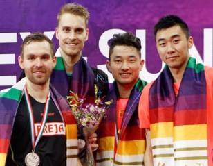 China Clinch Two Doubles Titles – Yonex-Sunrise India Open 2015 Finals