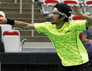 Jayaram's Blitz Floors Axelsen – Victor Korea Open 2015 Day 2