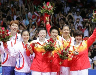 WD Gold for China; Lin Dan-Chong Wei in Dream Final