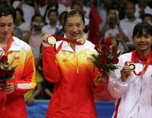 Zhang Ning delivers 2nd gold for China