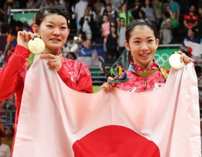 Golden First for Japan – Day 8 – Women's Doubles Final: Rio 2016