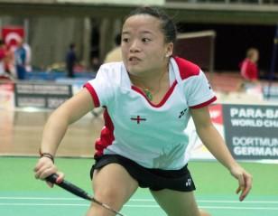 Kims in Three Finals – Spanish Para-Badminton International 2017