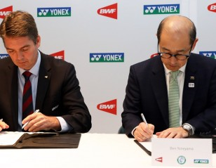 BWF and Yonex Seal 'Major Events' Deal