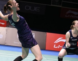 Danes Reign – Doubles Finals: OUE Singapore Open 2017