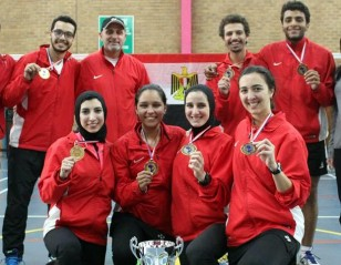 Egypt Emerge Champions: All Africa Mixed Team Championships  2017