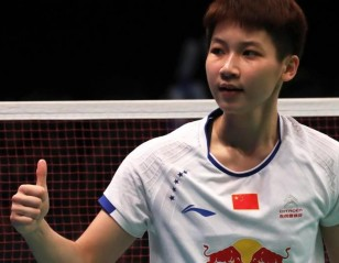 Teen Topples Marin – Day 2: BCA Indonesia Open 2017
