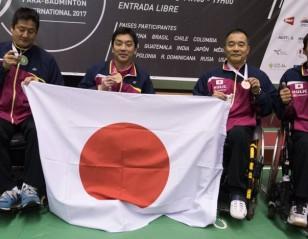 Nagashima Shines at Peru Para-Badminton International