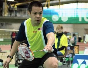 Cheah Wins Double at Japan Para-Badminton International