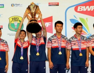 By the Dozen! – Final: BWF World Junior Mixed Team Championships 2017