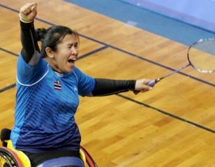 Kim, Wetwithan in Spotlight: Spanish Para-Badminton International 2018