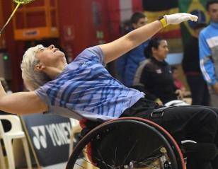Triple for Marcela Quinteros – VICTOR Denmark Para-Badminton 2018