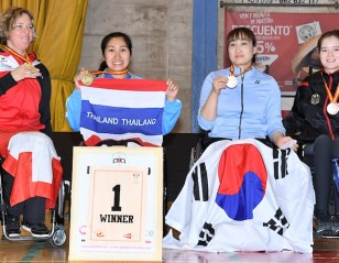 Double for Sujirat Pookkham – Finals: Spanish Para-Badminton International 2018