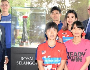 BWF and Royal Selangor in Trophy Partnership