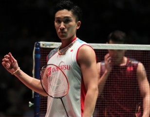 Kento Momota Completes Ascent