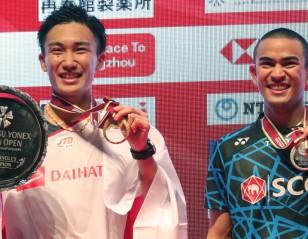 Another Momota Milestone – Finals: DAIHATSU YONEX Japan Open 2018