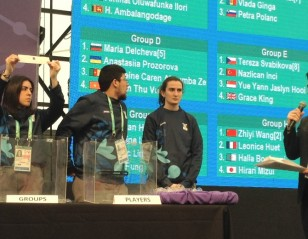 Draw Sets Stage for Exciting YOG Action