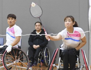 Kim Upsets Fuke – Australia Para-Badminton International 2018