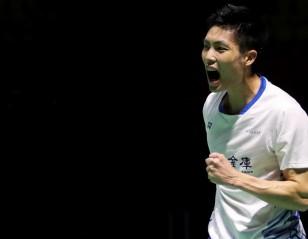 Chou Prevails in Thriller – Day 1: HSBC BWF World Tour Finals