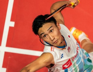 Momota To Face Son Wan Ho in Semifinals