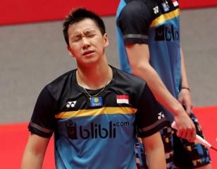 Gideon/Sukamuljo Bow Out With Injury