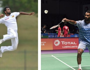 Badminton Still No. 1 for Sri Lankan Cricket's Latest Debutante