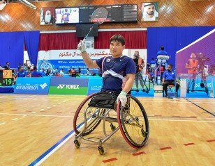 Asia Shares Out Wins – Dubai Para-Badminton Int'l