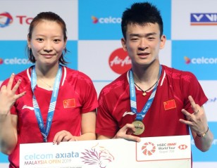 Zheng & Huang Unstoppable – Malaysia Open: Doubles Finals