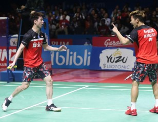 'Minions' Blast 'Daddies' – Indonesia Open: Day 6