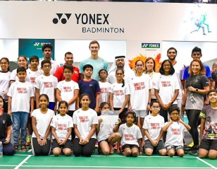 Axelsen Joins Shuttle Time Dubai's Fifth Anniversary Celebrations