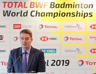 TOTAL BWF World Championships Draw
