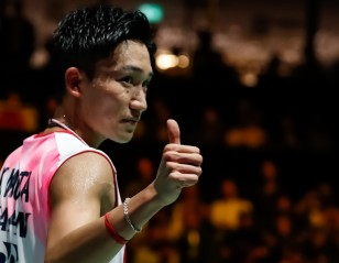 Momota to Begin Training at National Camp