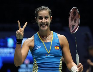 Olympic Champ Carolina Marin Returns