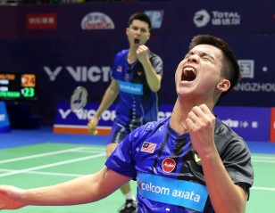Malaysia On Song – China Open: Day 3