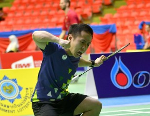 Chu Claims Champion Scalp – Thai Para-Badminton Int'l: Day 5