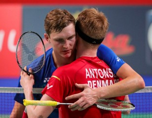 Axelsen Ups Ante Against Antonsen – Denmark Open: Day 4
