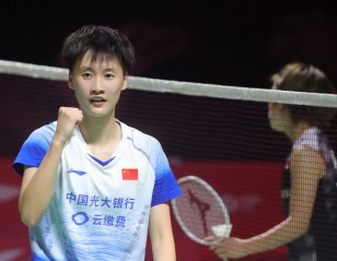 Okuhara Falls Short Again – Fuzhou China Open: Final