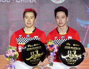 Minions Fly High – China Open: Doubles Finals