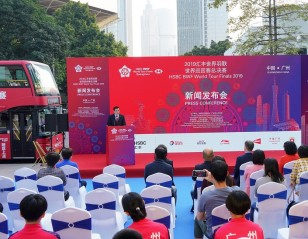 Hosts Launch HSBC BWF World Tour Finals Bus